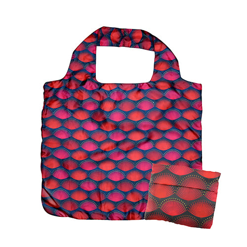 Fold Out Bag Pohutukawa Blaze - Kiwi Collections