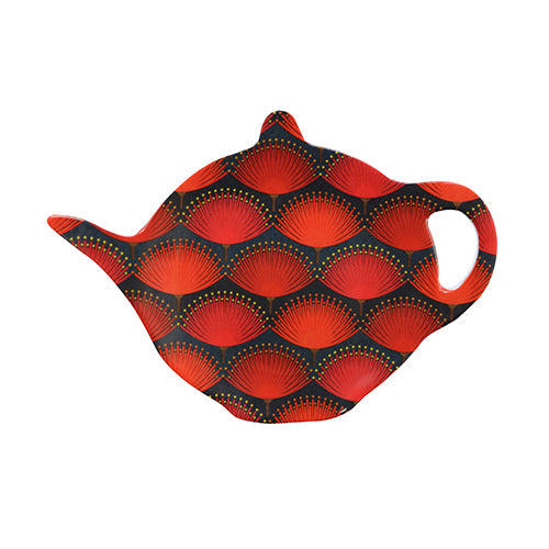 Pohutukawa Blaze / Teabag Holder - Kiwi Collections
