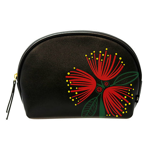 Cosmetic Bag Classic Pohutukawa - Kiwi Collections