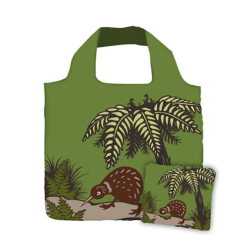 Fold Out Bag Bush Kiwi - Kiwi Collections