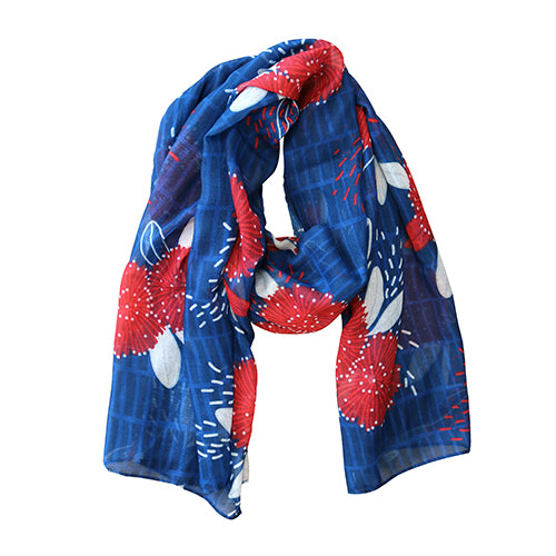 Scarf Crimson Pohutukawa - Kiwi Collections