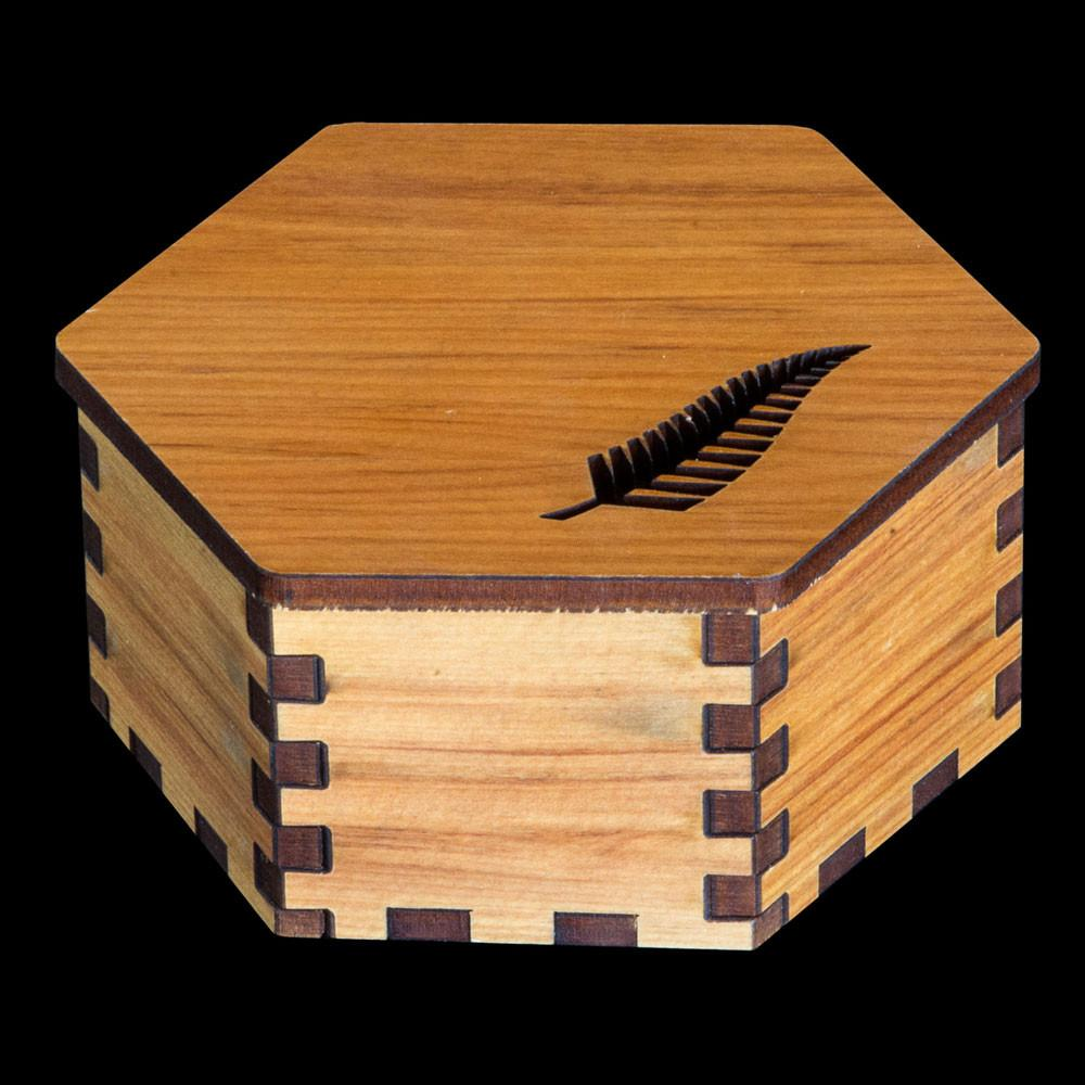 Fern Leaf Gift Box - Kiwi Collections