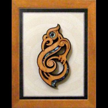 Small Framed Manaia - Kiwi Collections