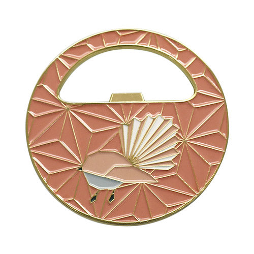 Bottle Opener Geo Fantail - Kiwi Collections