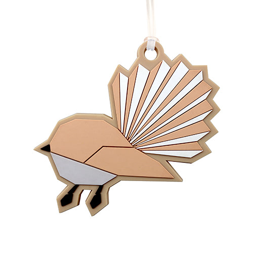 Bag Tag Geo Fantail - Kiwi Collections