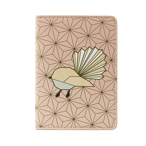 Passport Holder Geo Fantail - Kiwi Collections