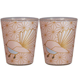 Shot Glass Geo Fantail - 2 Set