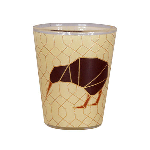Shot Glass Geo Kiwi - Kiwi Collections