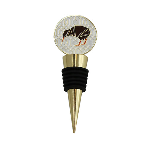 Wine Stopper Geo Kiwi - Kiwi Collections