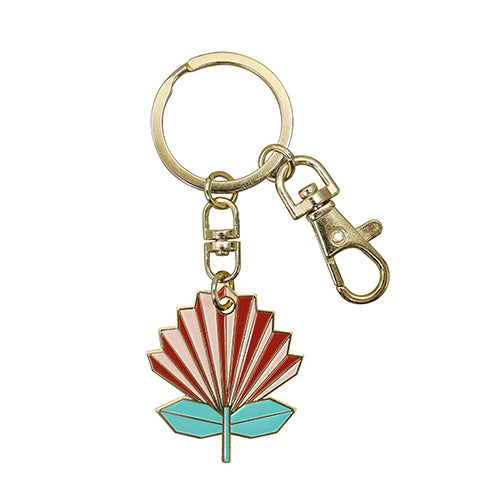 Key Ring Geo Pohutukawa - Kiwi Collections