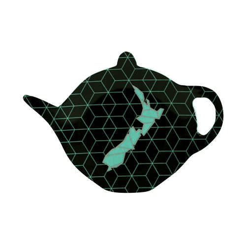 Geo Map / Teabag Holder - Kiwi Collections