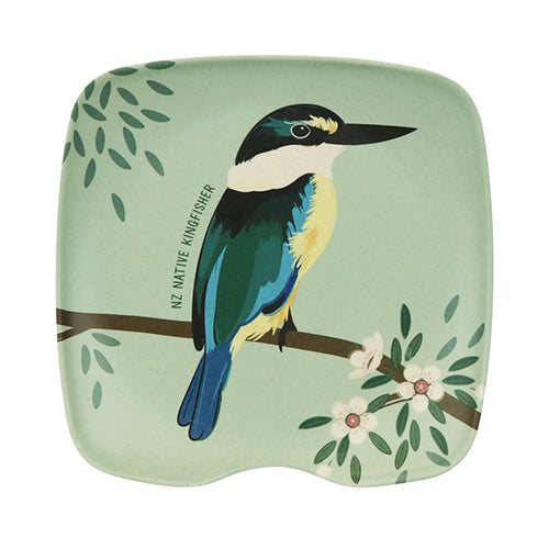 Bamboo Spoon Rest Native Kingfisher