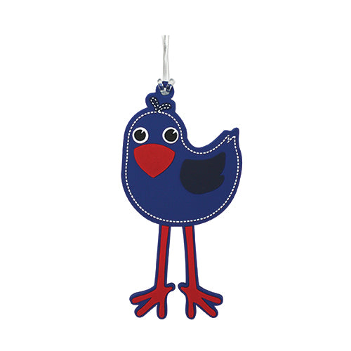 Bag Tag Kids Pukeko - Kiwi Collections
