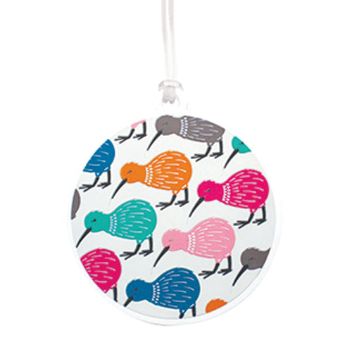 Bag Tag Charming Kiwis - Kiwi Collections