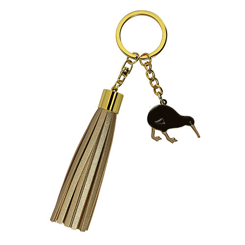 Key Ring Tassel Kiwi Gold - Kiwi Collections