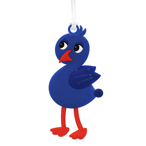 Bag Tag Cute Pukeko