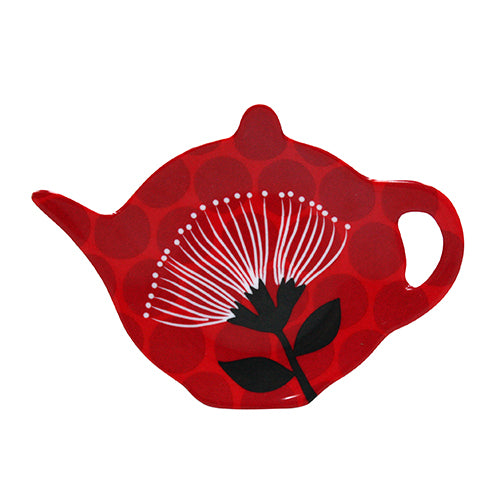 Pohutukawa / Teabag Holder - Kiwi Collections