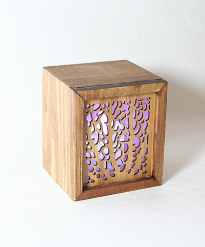 LED TEALIGHT BOX : Coral - Kiwi Collections