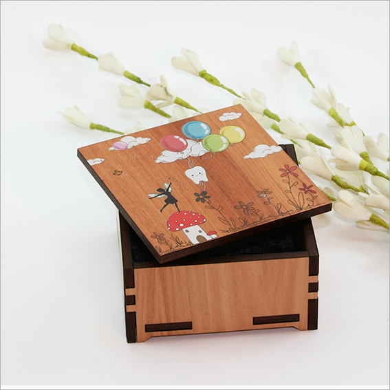 Small Trinket Box : Tooth Fairy - Kiwi Collections