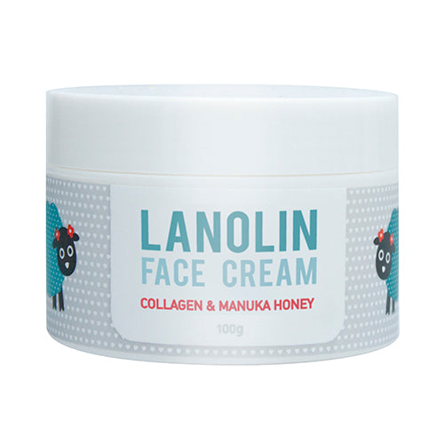 SK Lanolin Face Cream 100g - Kiwi Collections