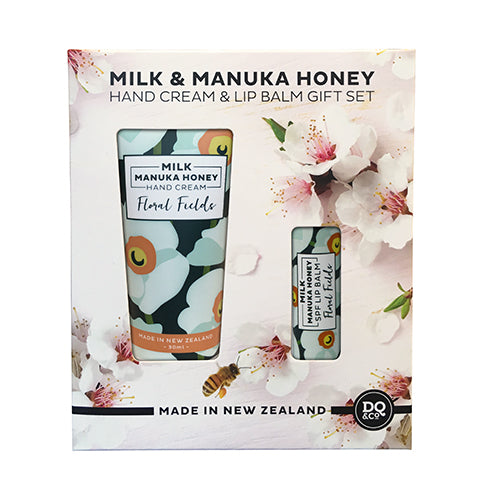 SK Manuka Honey & Milk - Gift Set Floral Fields (Hand & Lip)