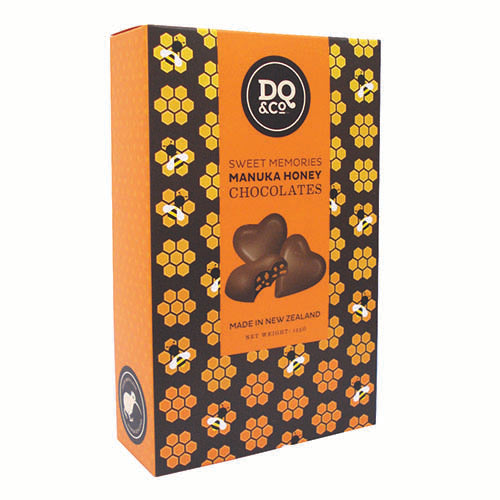 Lollies Chocolate Manuka Honey Hearts - Kiwi Collections