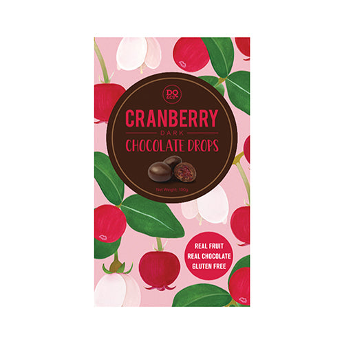 Lollies Choc Drops Cranberries