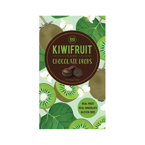 Lollies Choc Drops Kiwifruit