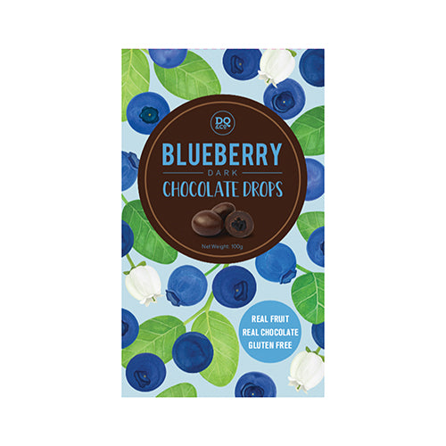 Lollies Choc Drops Blueberries