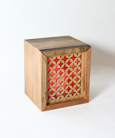 LED TEALIGHT BOX : Pacific - Kiwi Collections