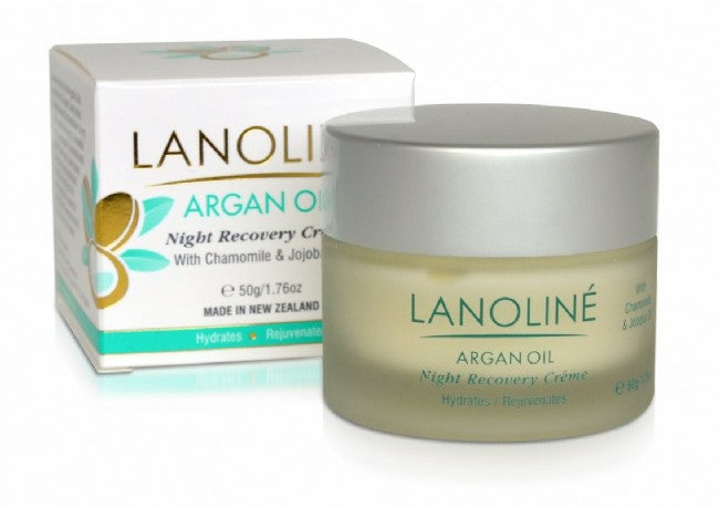 Argan Oil Night Recovery Creme - Kiwi Collections