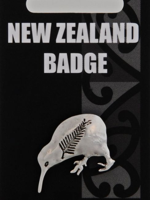 Kiwi & Fern Badge - Kiwi Collections