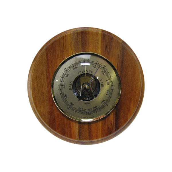 BAROMETER, RIMU - ROUND LARGE - Kiwi Collections