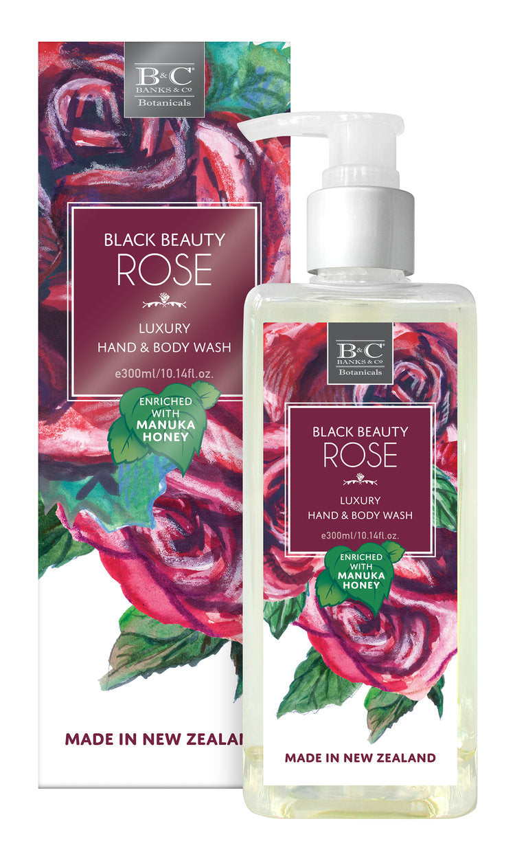Black Beauty Rose Luxury Wash - Kiwi Collections