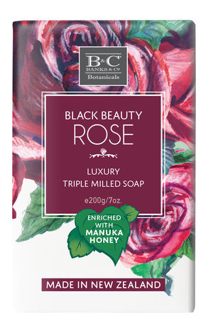 Black Beauty Rose Luxury Soap - Kiwi Collections