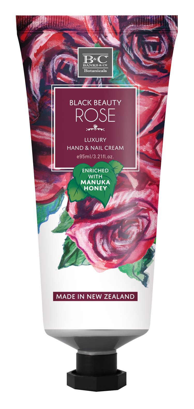 Black Beauty Rose Hand & Nail Cream - Kiwi Collections