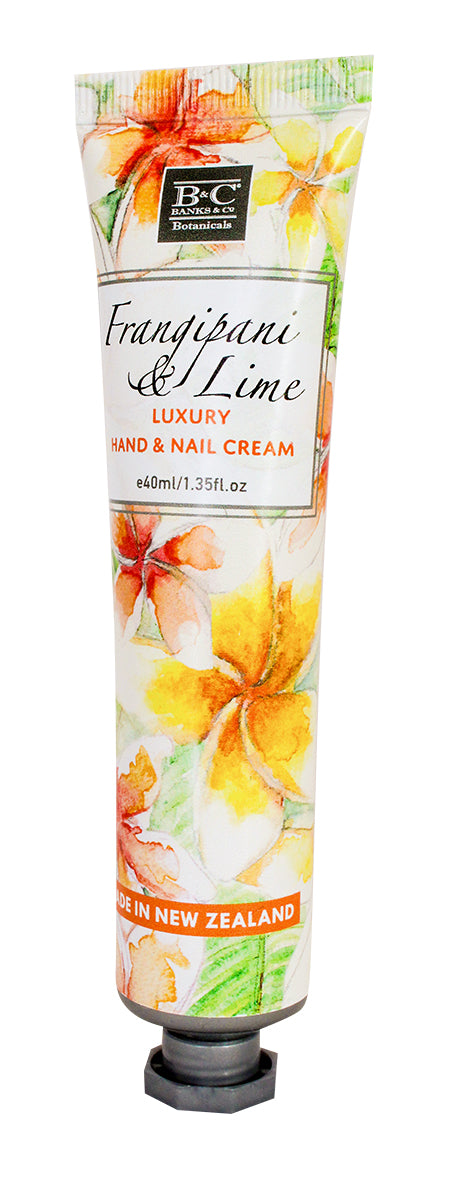 Frangipani & Lime Hand & Nail Cream - Kiwi Collections