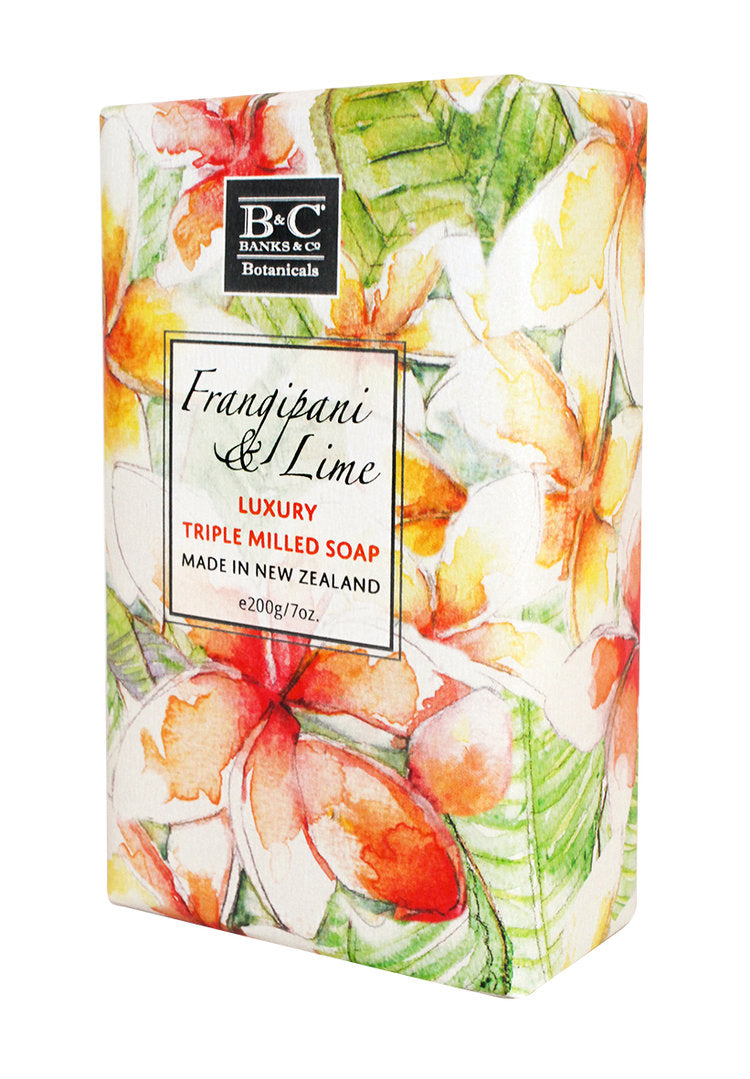 Frangipani & Lime Luxury Soap - Kiwi Collections