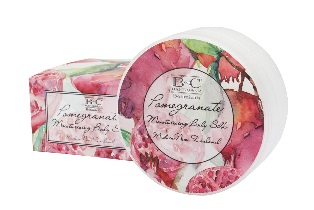 Pomegranate Luxury Body Silk - Kiwi Collections