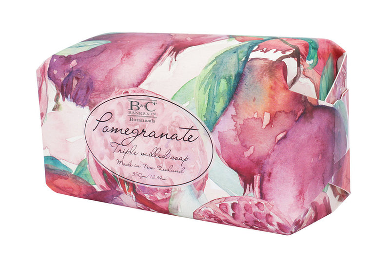 Pomegranate Luxury Oval Soap - Kiwi Collections