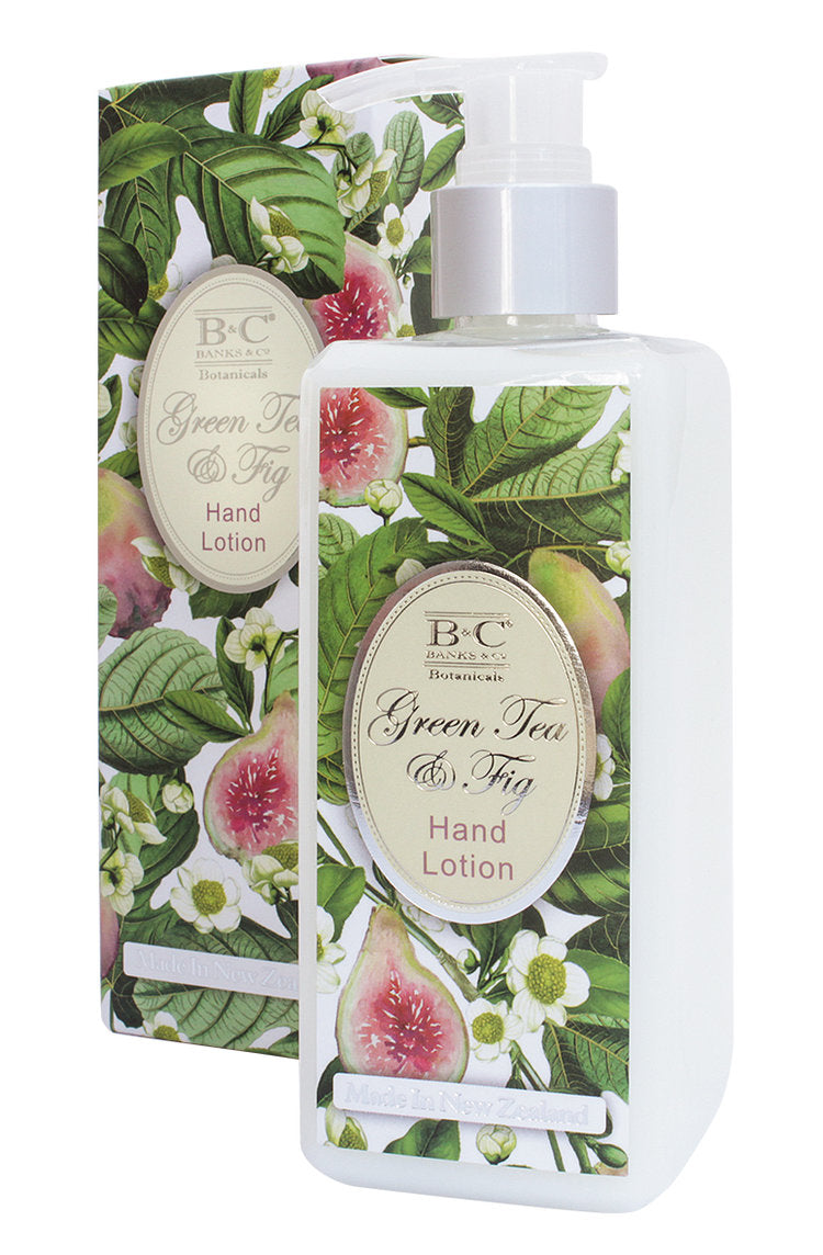 Green Tea & Fig Hand & Body Lotion - Kiwi Collections