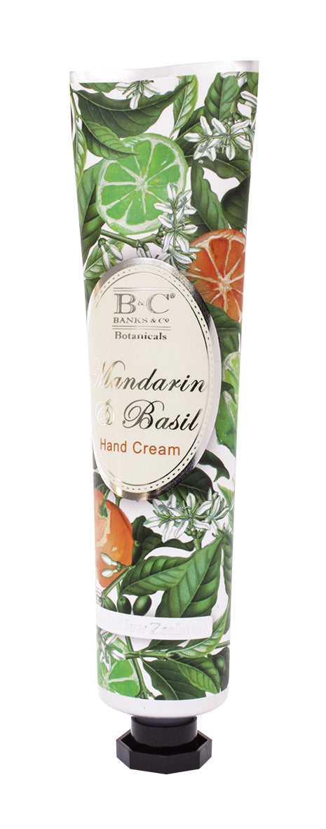 Mandarin & Basil Hand & Nail Cream - Kiwi Collections