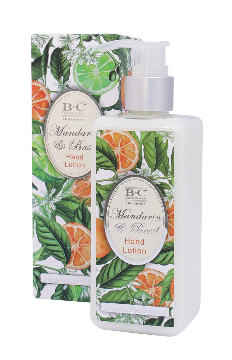 Mandarin & Basil Hand & Body Lotion - Kiwi Collections