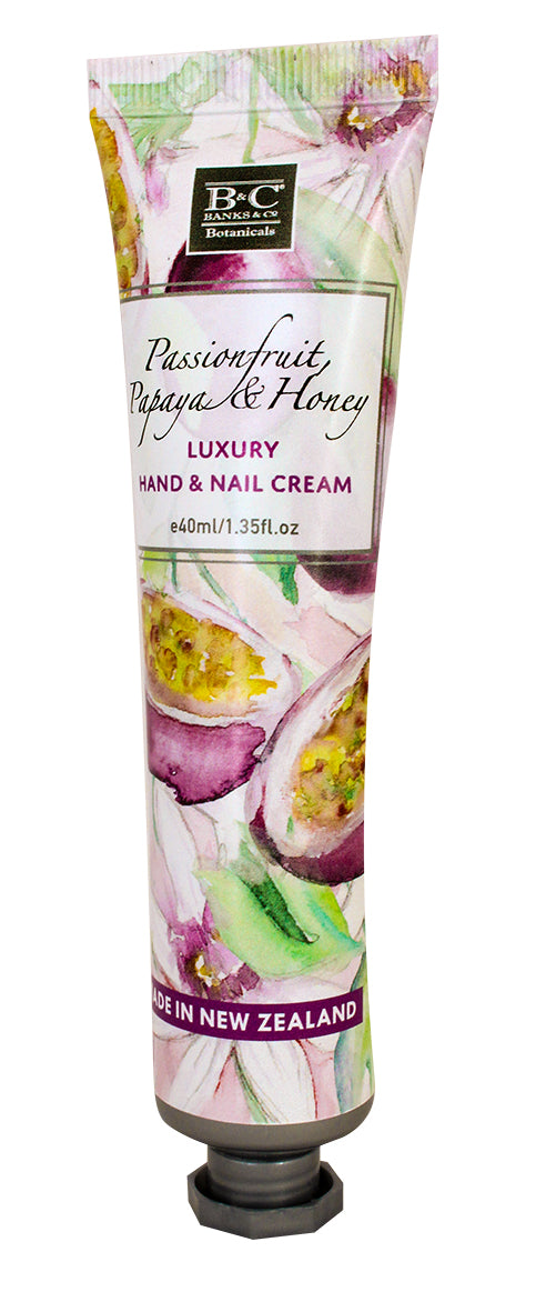 Passionfruit, Papaya & Honey Hand & Nail Cream - Kiwi Collections