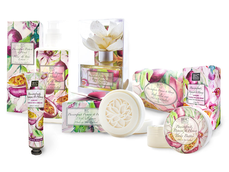 Passionfruit, Papaya & Honey Luxury Body Butter - Kiwi Collections
