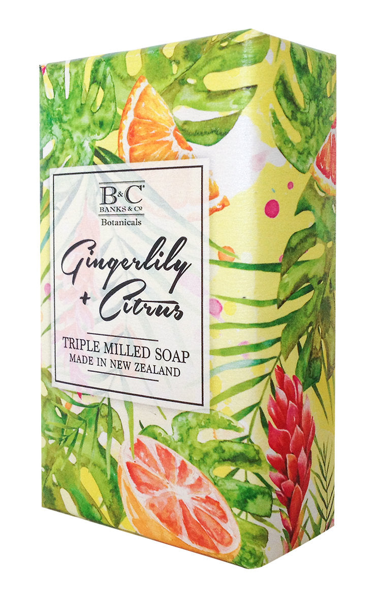Gingerlily & Citrus Luxury Soap - Kiwi Collections
