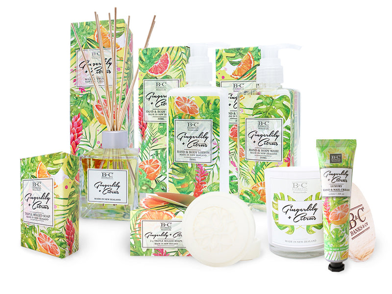 Gingerlily & Citrus 2 x Boxed Soaps - Kiwi Collections