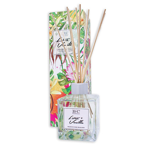 Lotus & Vanilla Luxury Room Diffuser - Kiwi Collections