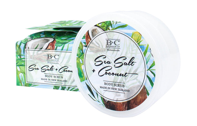 Sea Salt & Coconut Luxury Body Scrub - Kiwi Collections