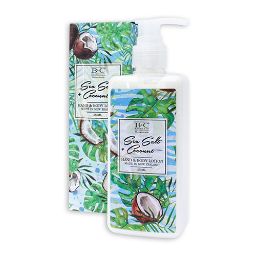 Sea Salt & Coconut Hand & Body Lotion - Kiwi Collections